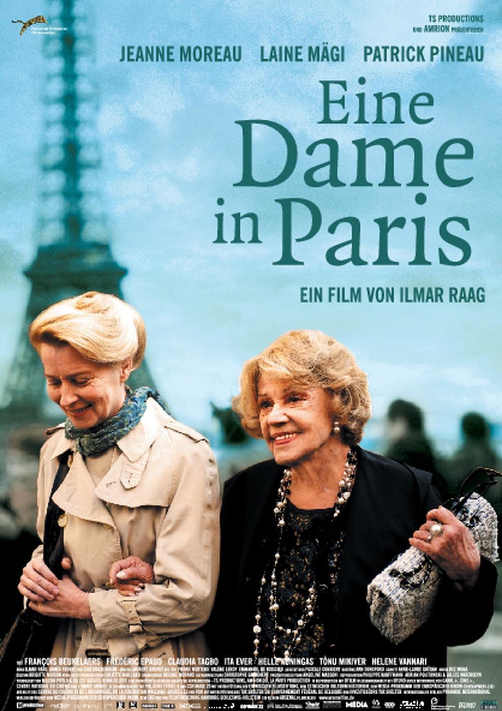 Eine Dame in Paris (Poster)