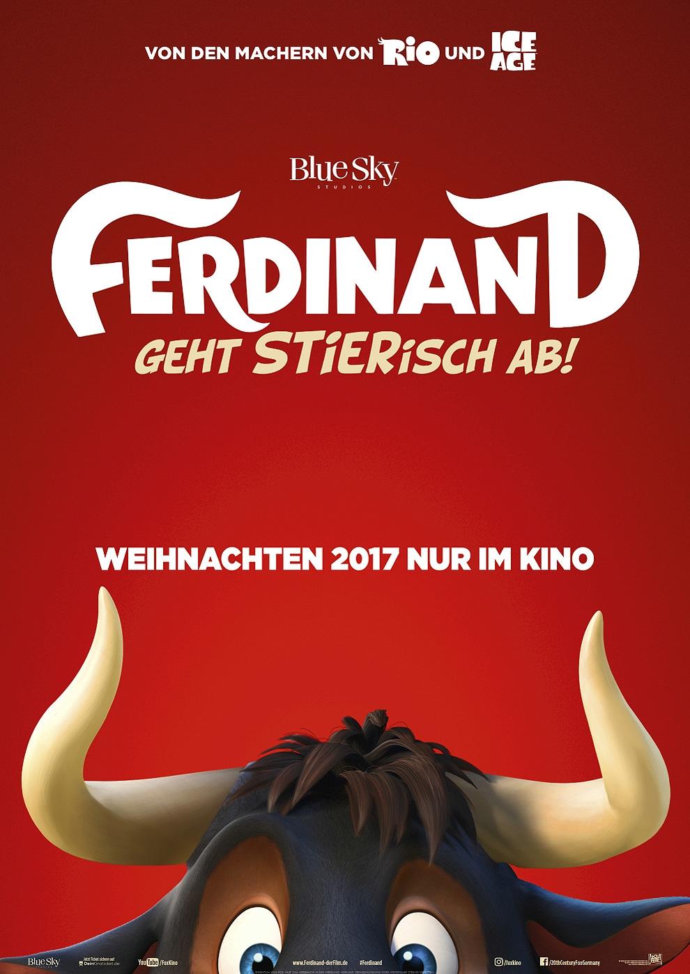 Ferdinand - Geht STIERisch ab! (Poster)