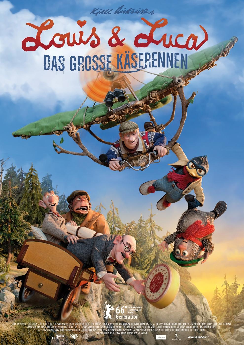 Louis & Luca - Das große Käserennen (Poster)