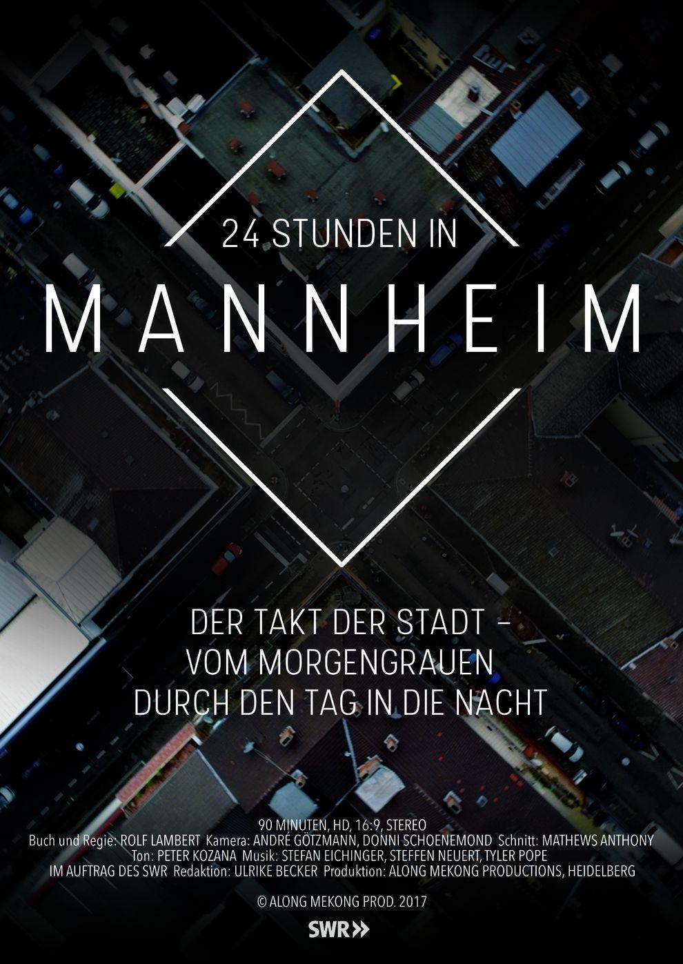 24 Stunden in Mannheim (Poster)