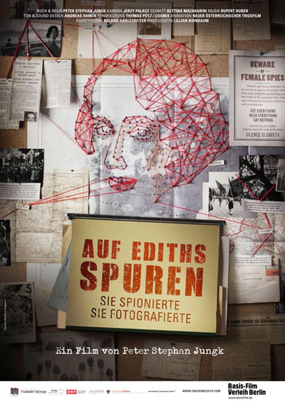 Auf Ediths Spuren (Poster)