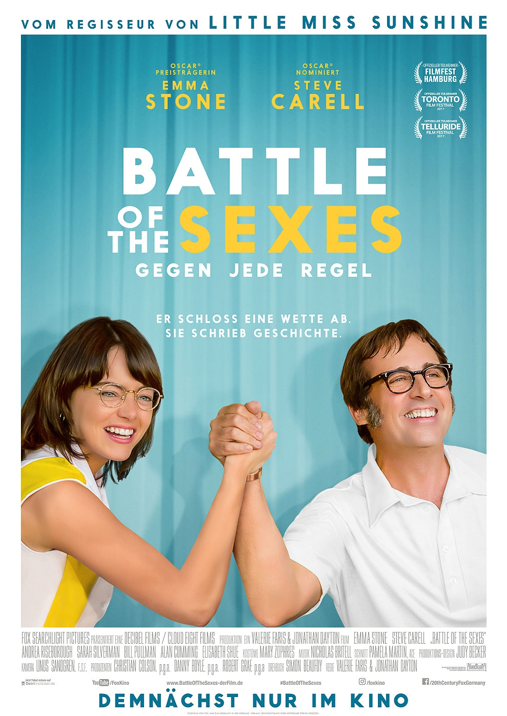 Battle of the Sexes - Gegen jede Regel (Poster)