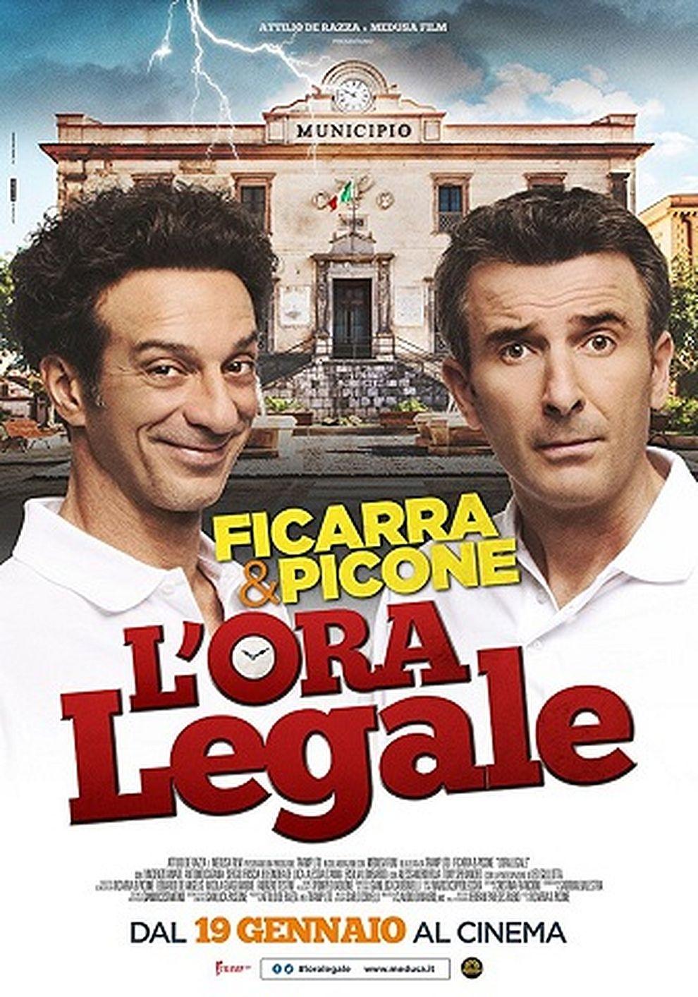 L'Ora legale - Ab heute sind wir ehrlich (Poster)