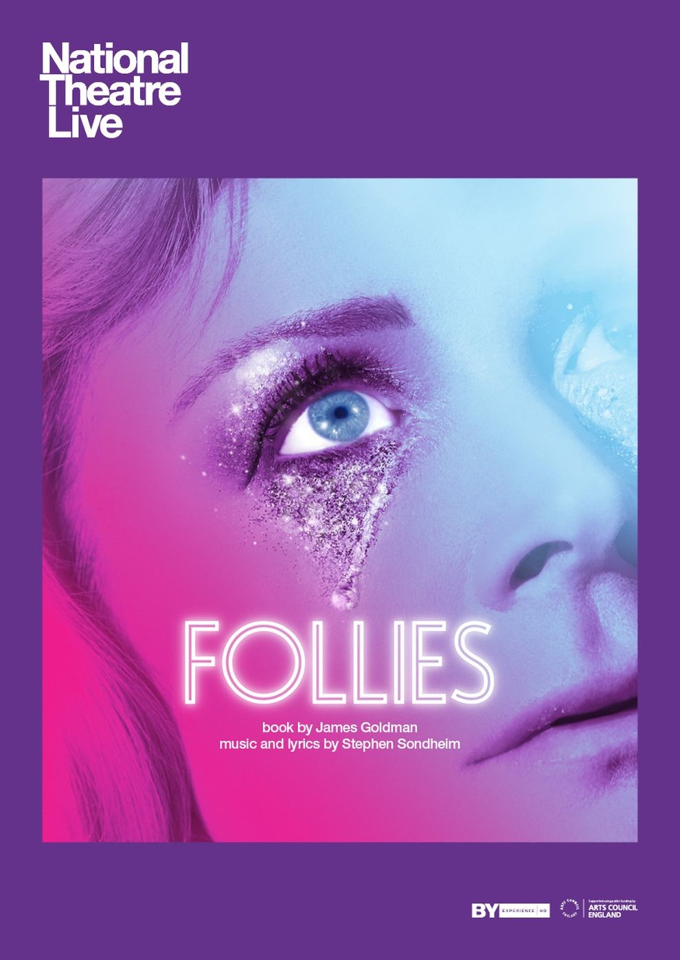 National Theatre London: Follies (Poster)