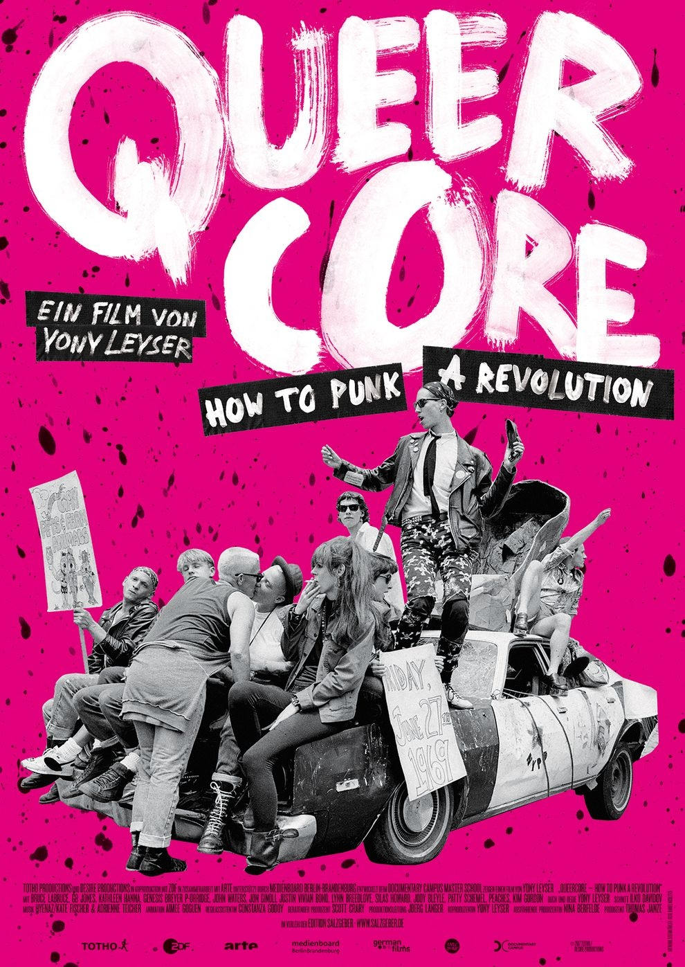 Queercore - Liberation is my Lover (Poster)