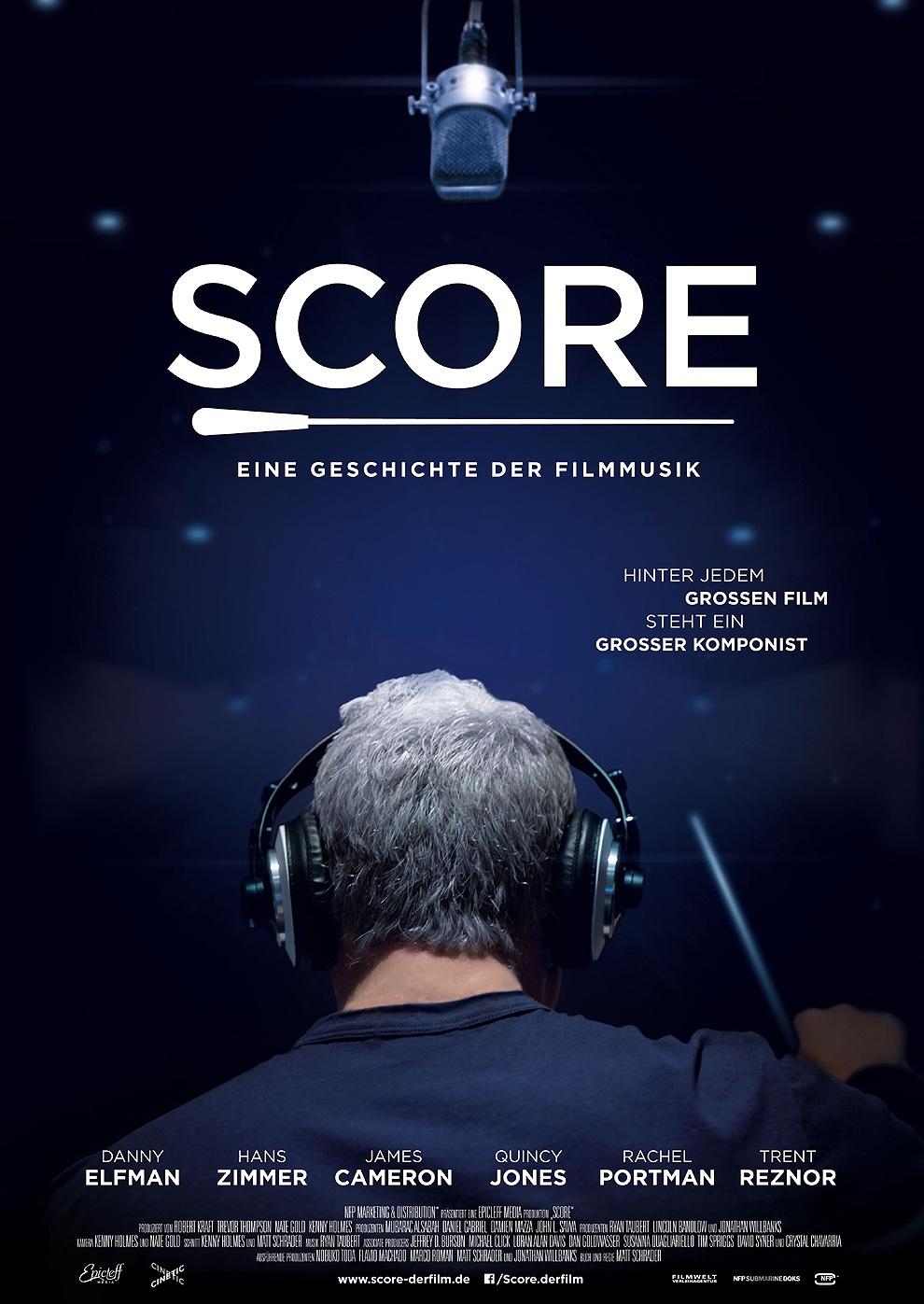 Score - Eine Geschichte der Filmmusik (Poster)