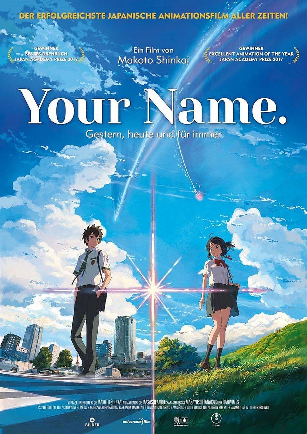 Your Name. - Gestern, Heute und für Immer - Mathäser Filmpalast ...