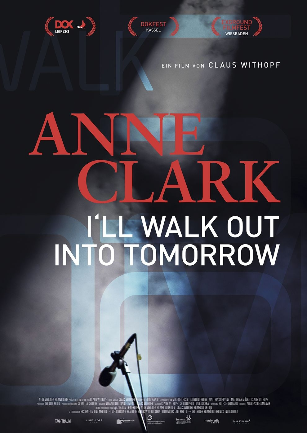 Anne Clark I'll Walk Out Into Tomorrow (Poster)