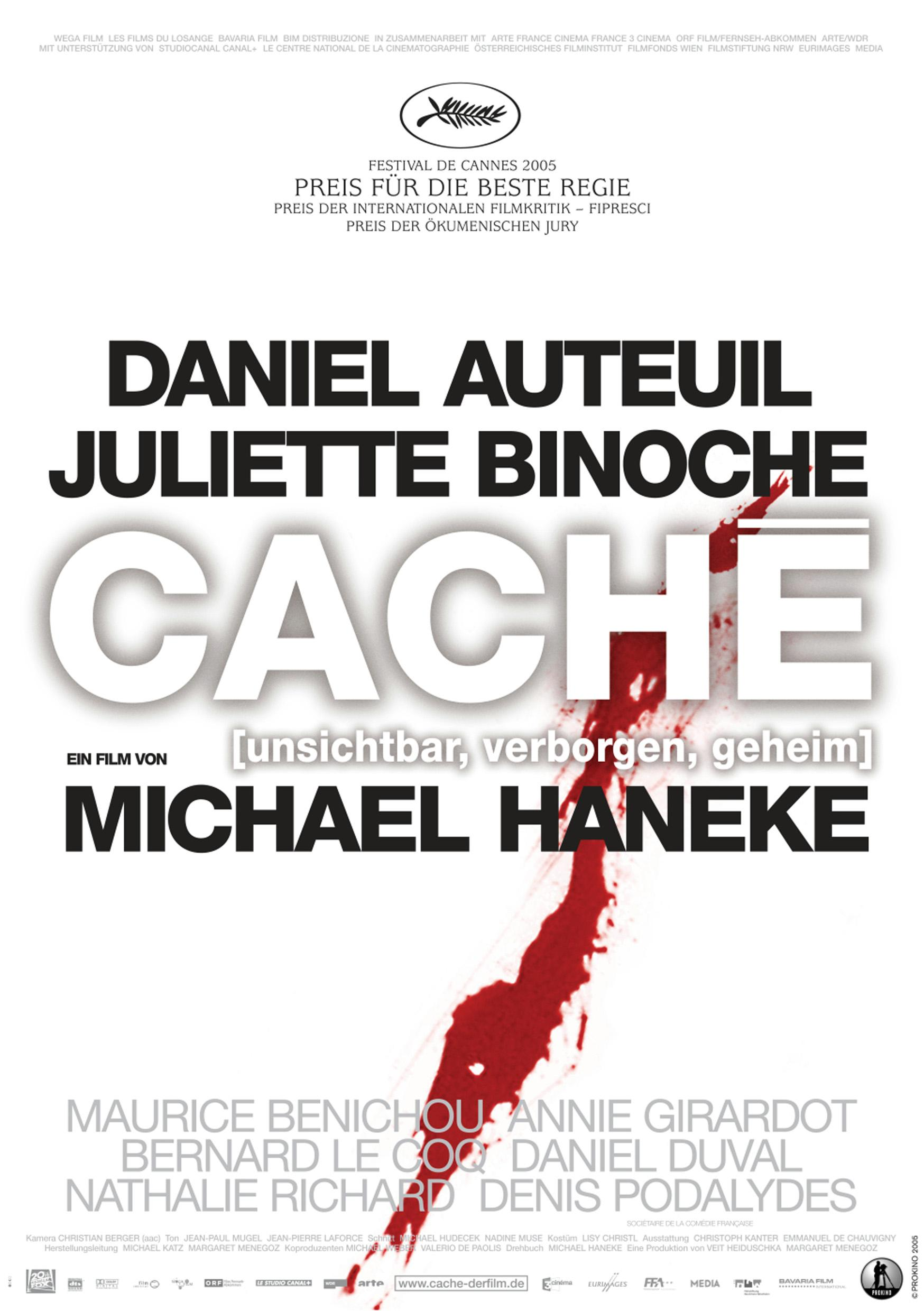Caché (Poster)