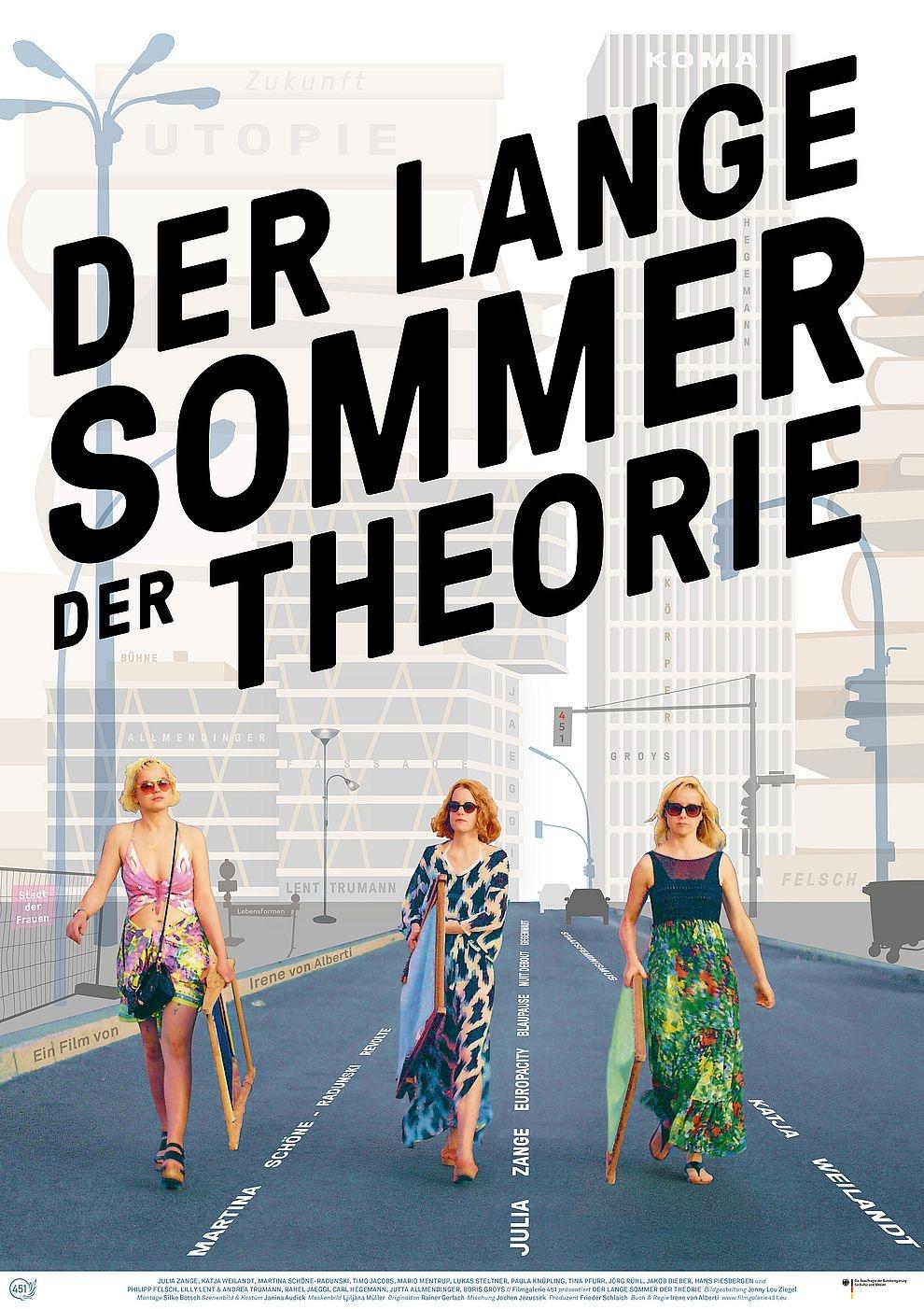 Der lange Sommer der Theorie (Poster)