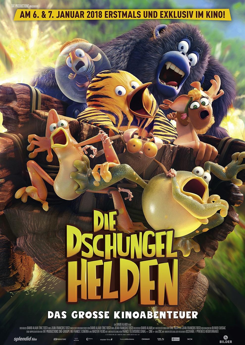 Die Dschungelhelden - Das grosse Kinoabenteuer (Poster)