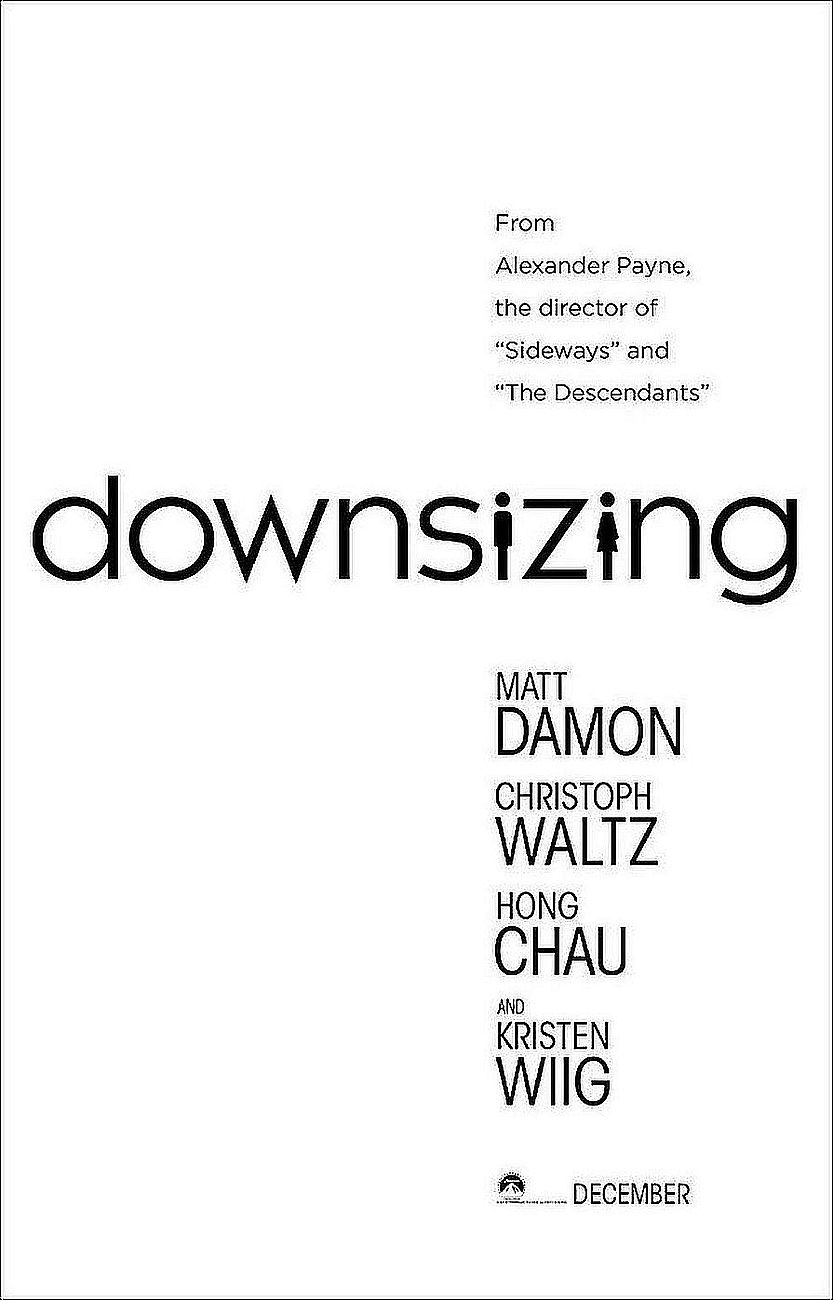 Downsizing (Poster)