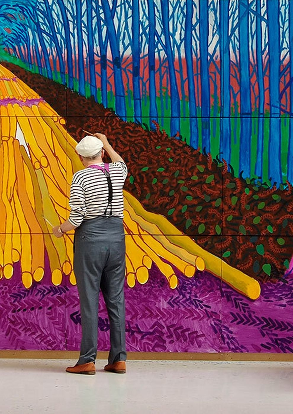 Exhibition on Screen: David Hockney in der Royal Academy of Arts (Poster)