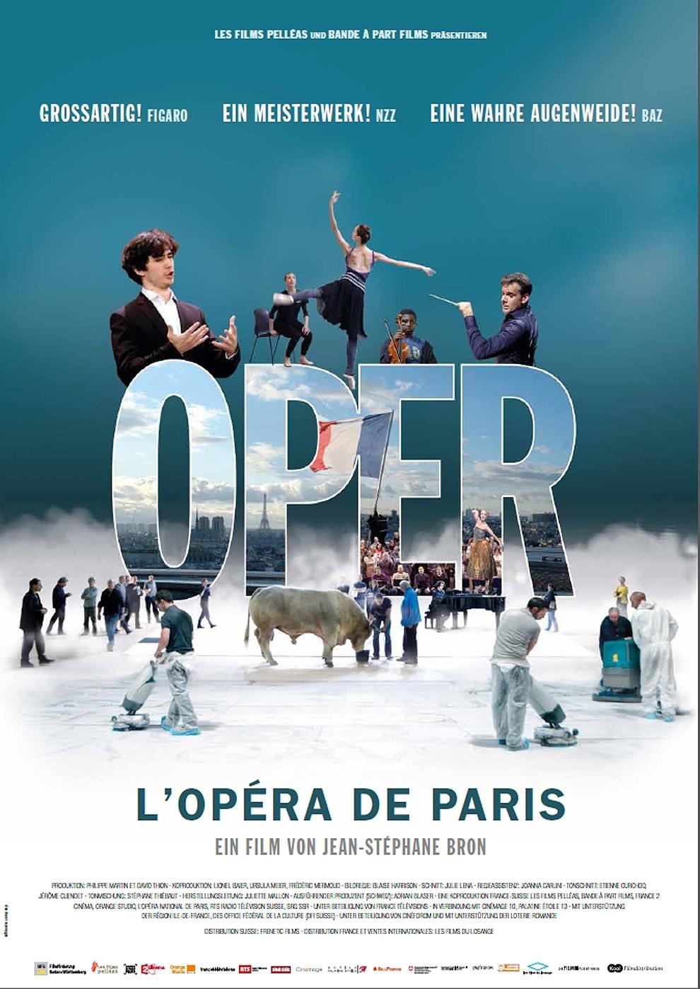 L' Opera de Paris (Poster)