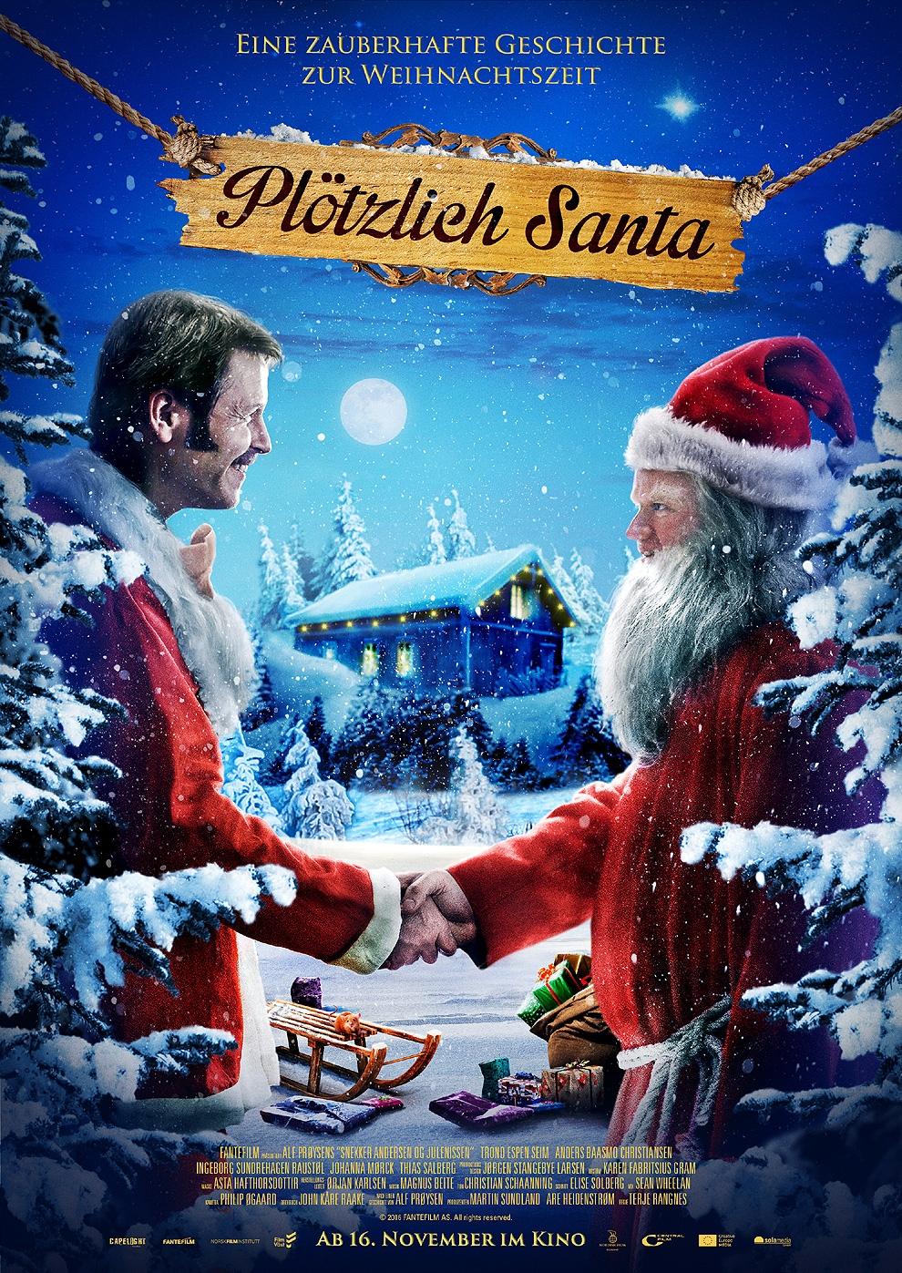Plötzlich Santa (Poster)