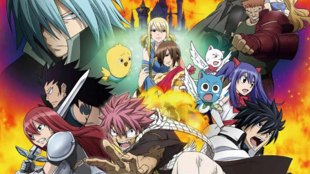 Filminfo Anime Night 2018 Fairy Tail 1 Phoenix Priestess