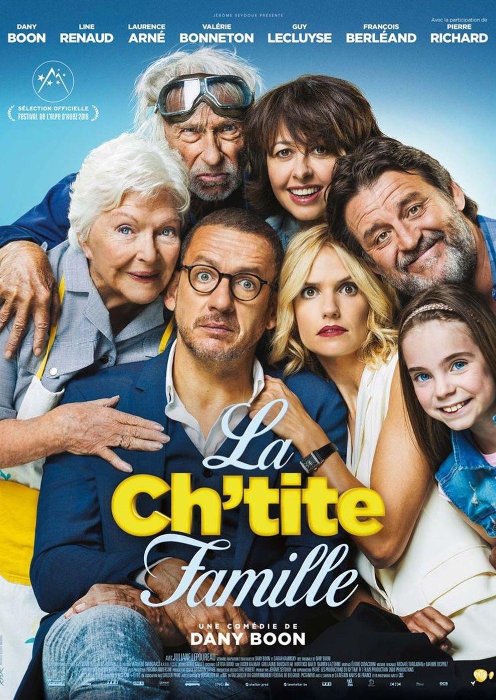 Die Sch'tis in Paris - Eine Familie auf Abwegen (Poster)