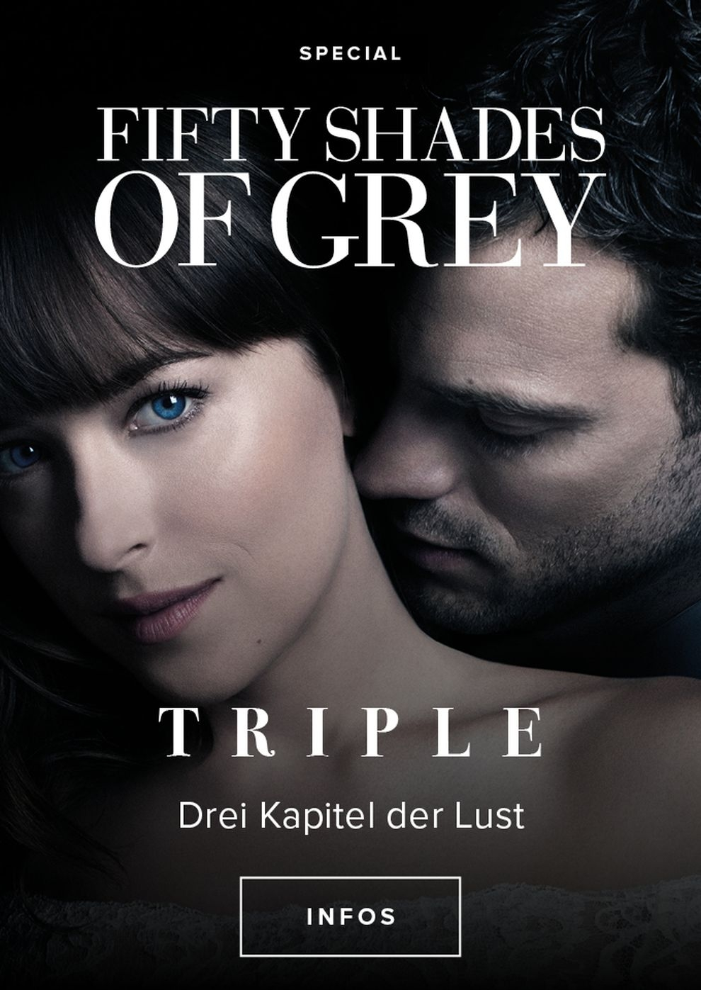 Fifty Shades of Grey Triple (Poster)