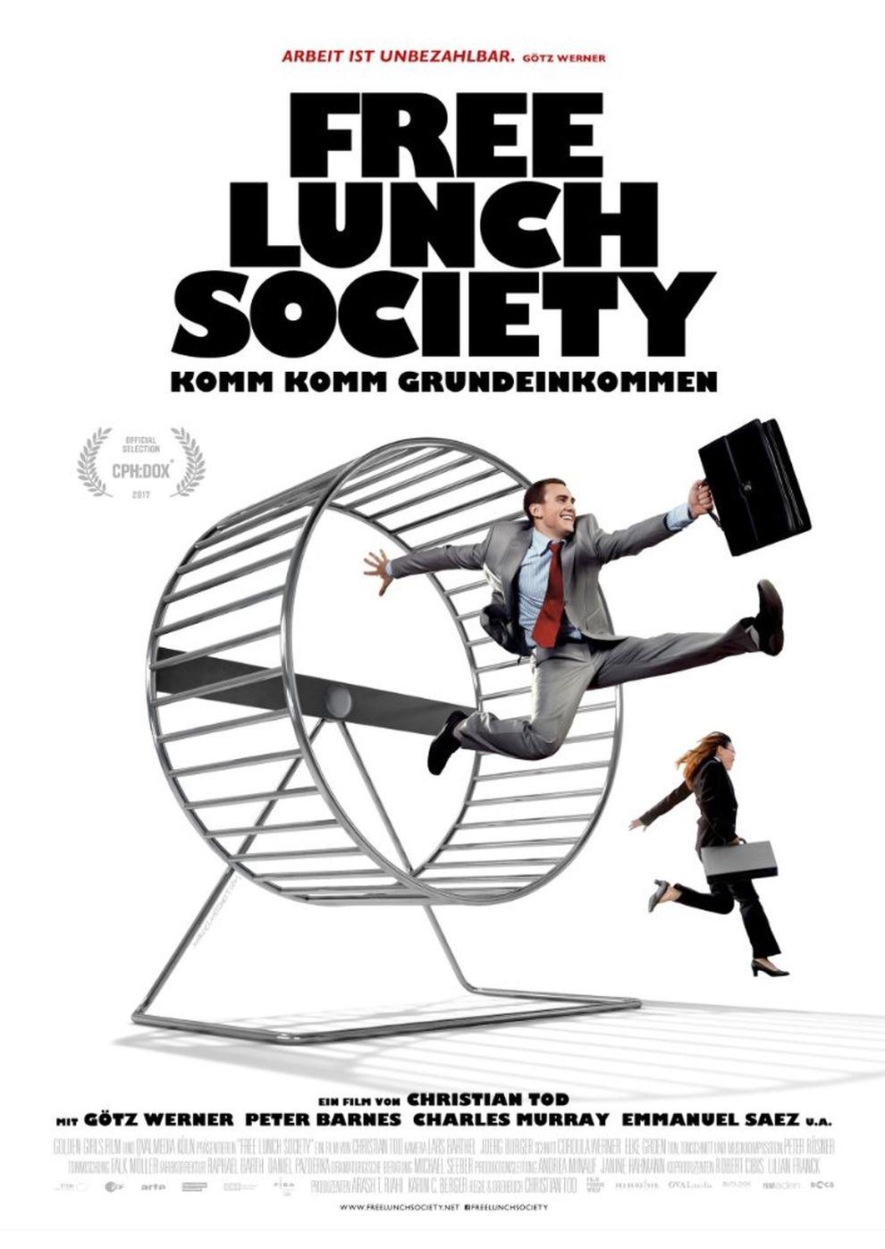Free Lunch Society: Komm Komm Grundeinkommen (Poster)