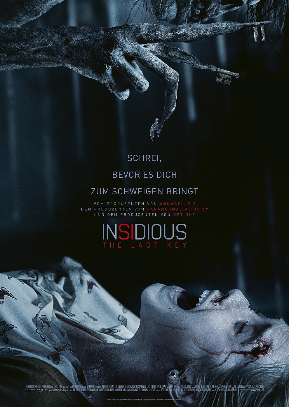 Insidious - The Last Key (Poster)