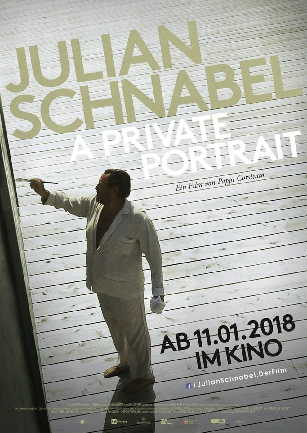 Julian Schnabel: A Private Portrait (Poster)