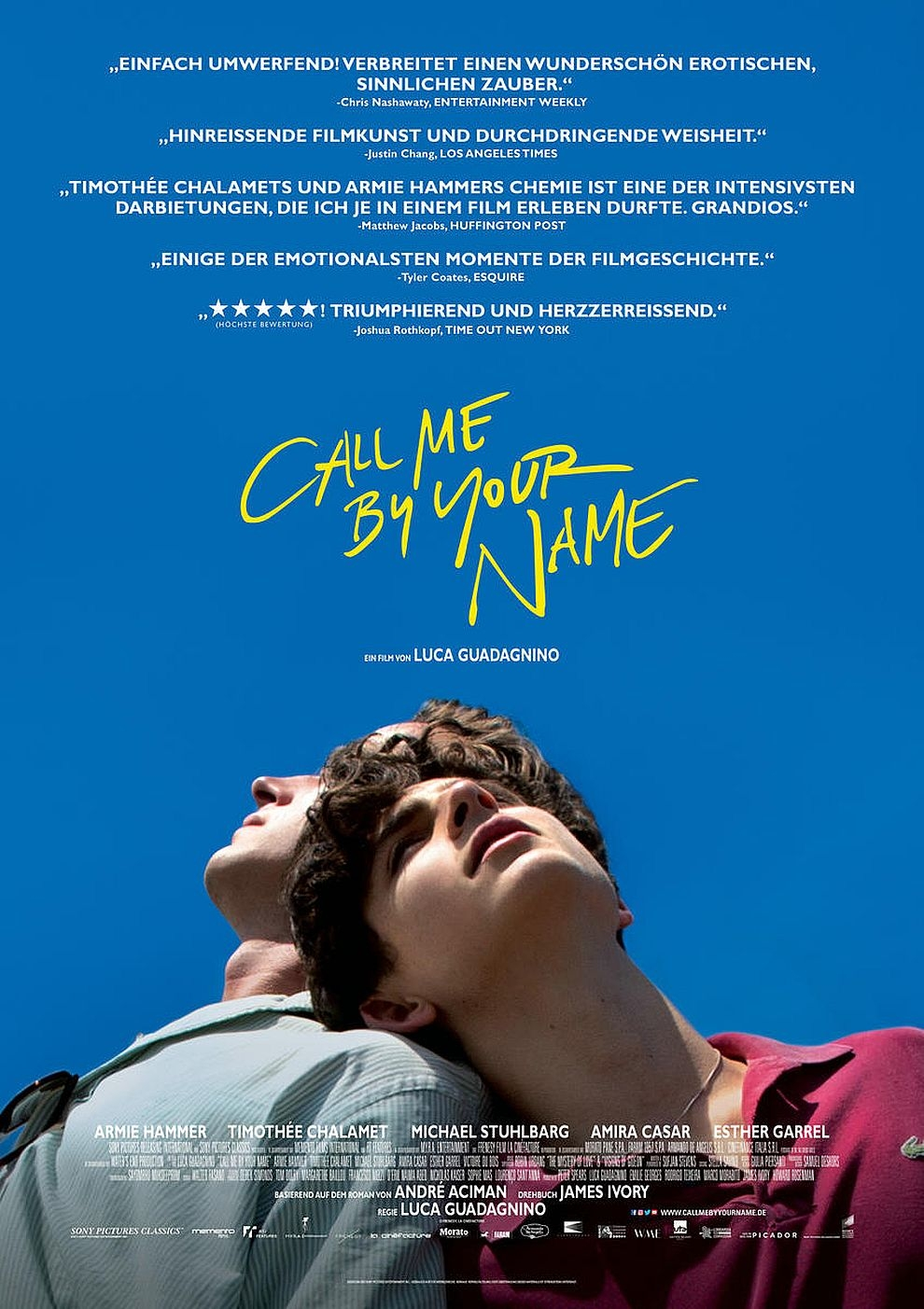Call me by your Name (Poster)