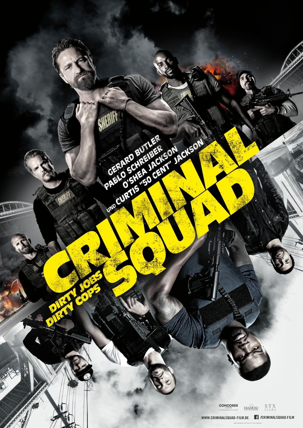 Criminal Squad (Poster)