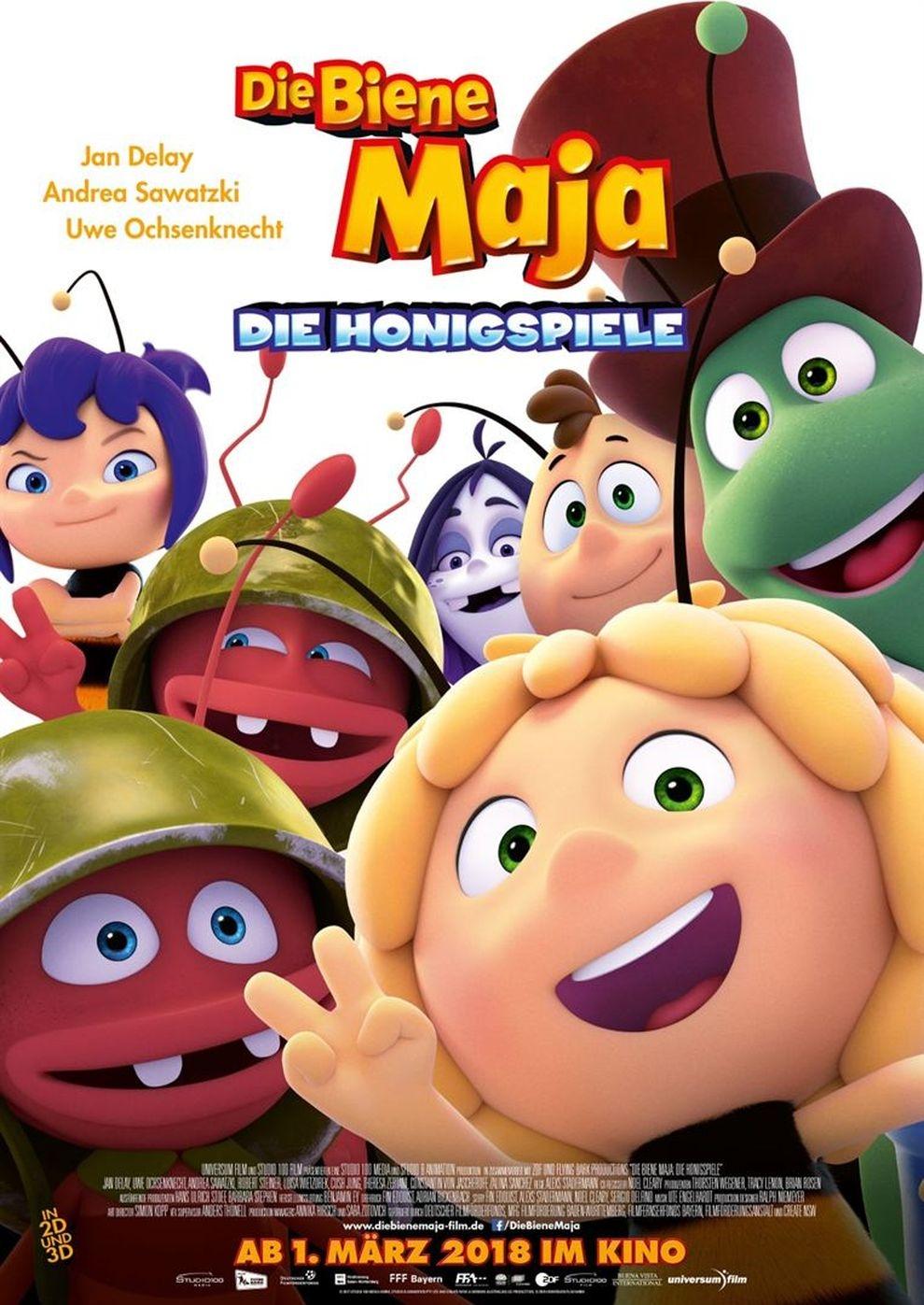 Die Biene Maja 2 - Die Honigspiele (Poster)