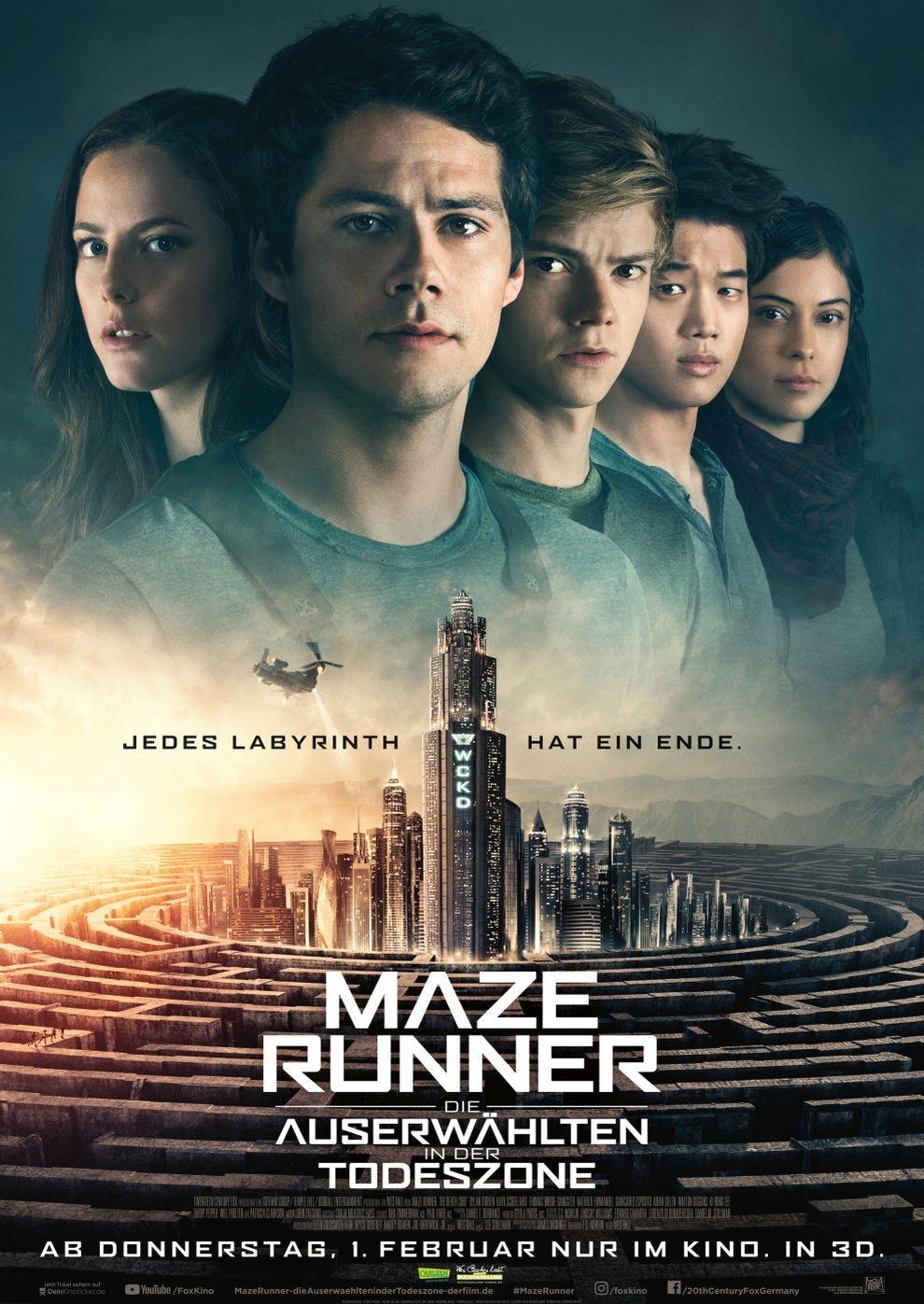 Maze Runner: Die Auserwählten in der Todeszone (Poster)