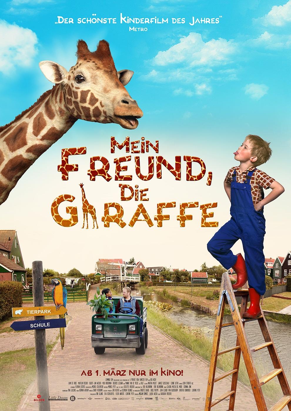 Mein Freund, die Giraffe (Poster)