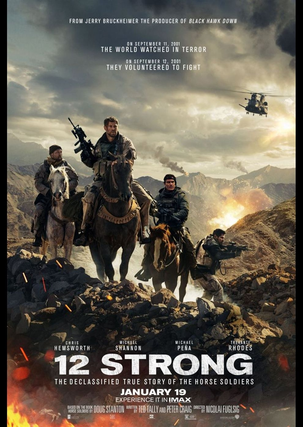 Operation: 12 Strong (Poster)