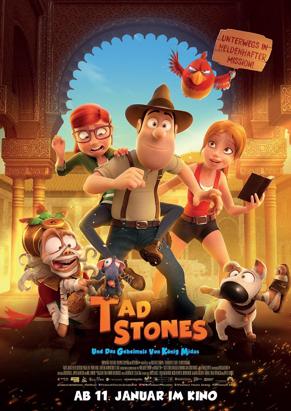 Tad Stones und das Geheimnis von König Midas (Poster)