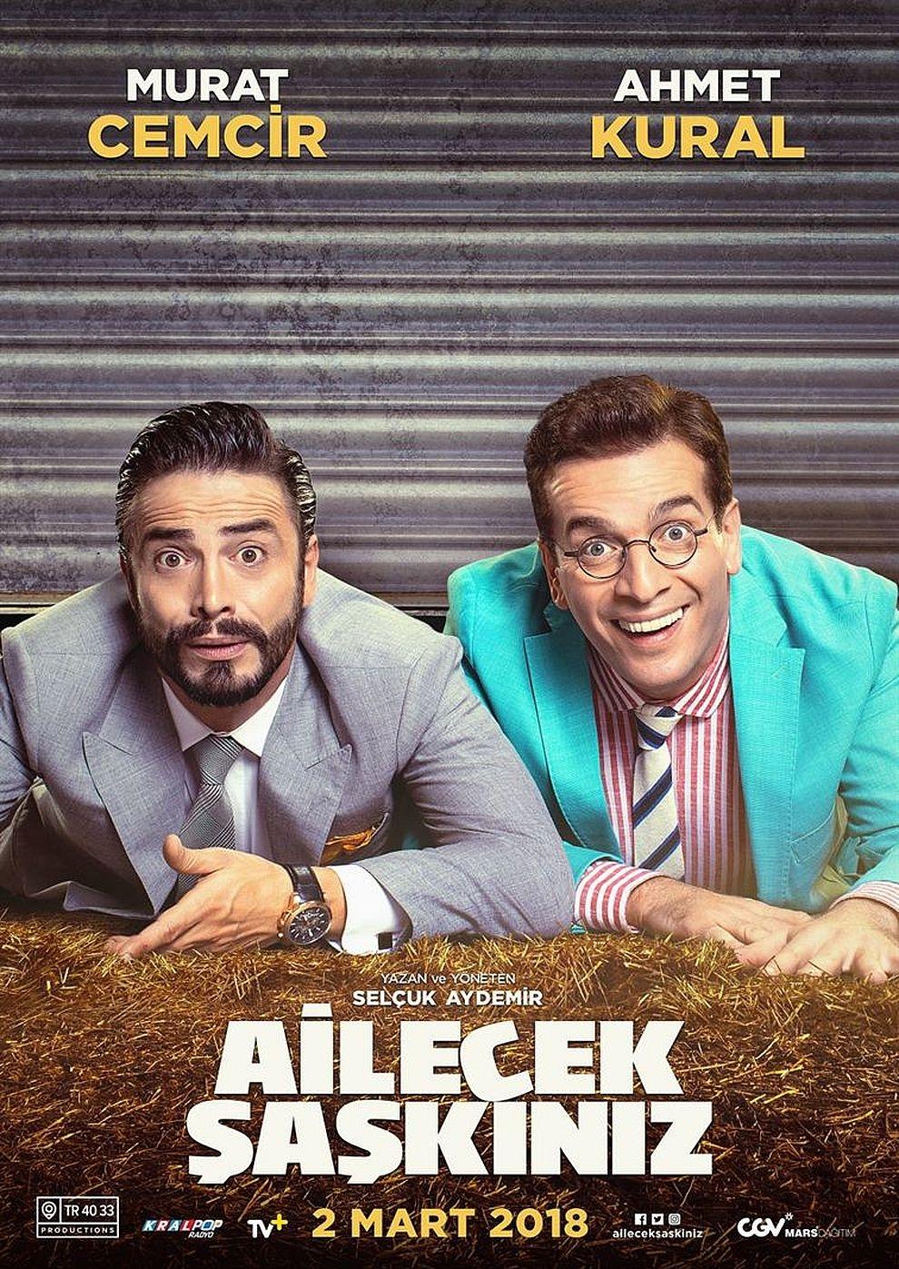 Ailecek Saskiniz (Poster)
