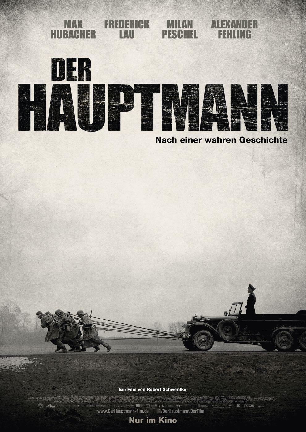 Der Hauptmann (Poster)