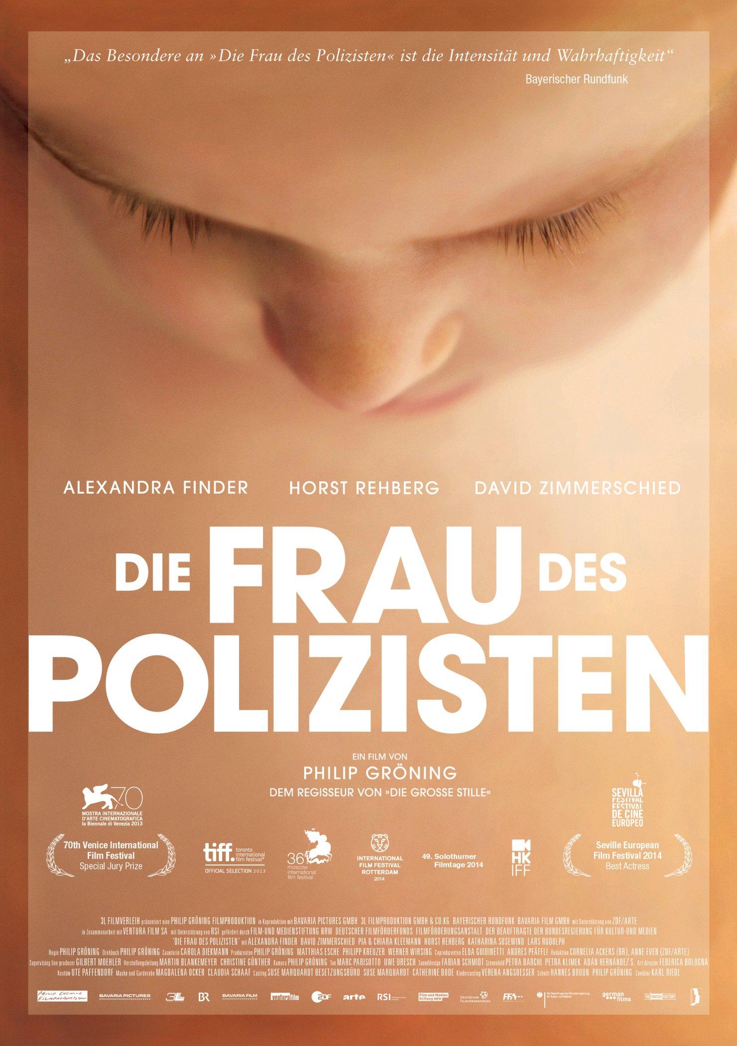 Die Frau des Polizisten (Poster)