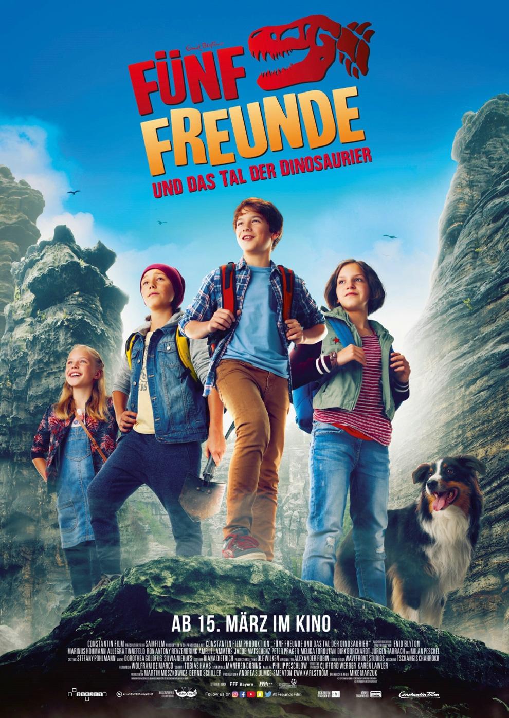 Fünf Freunde und das Tal der Dinosaurier (Poster)