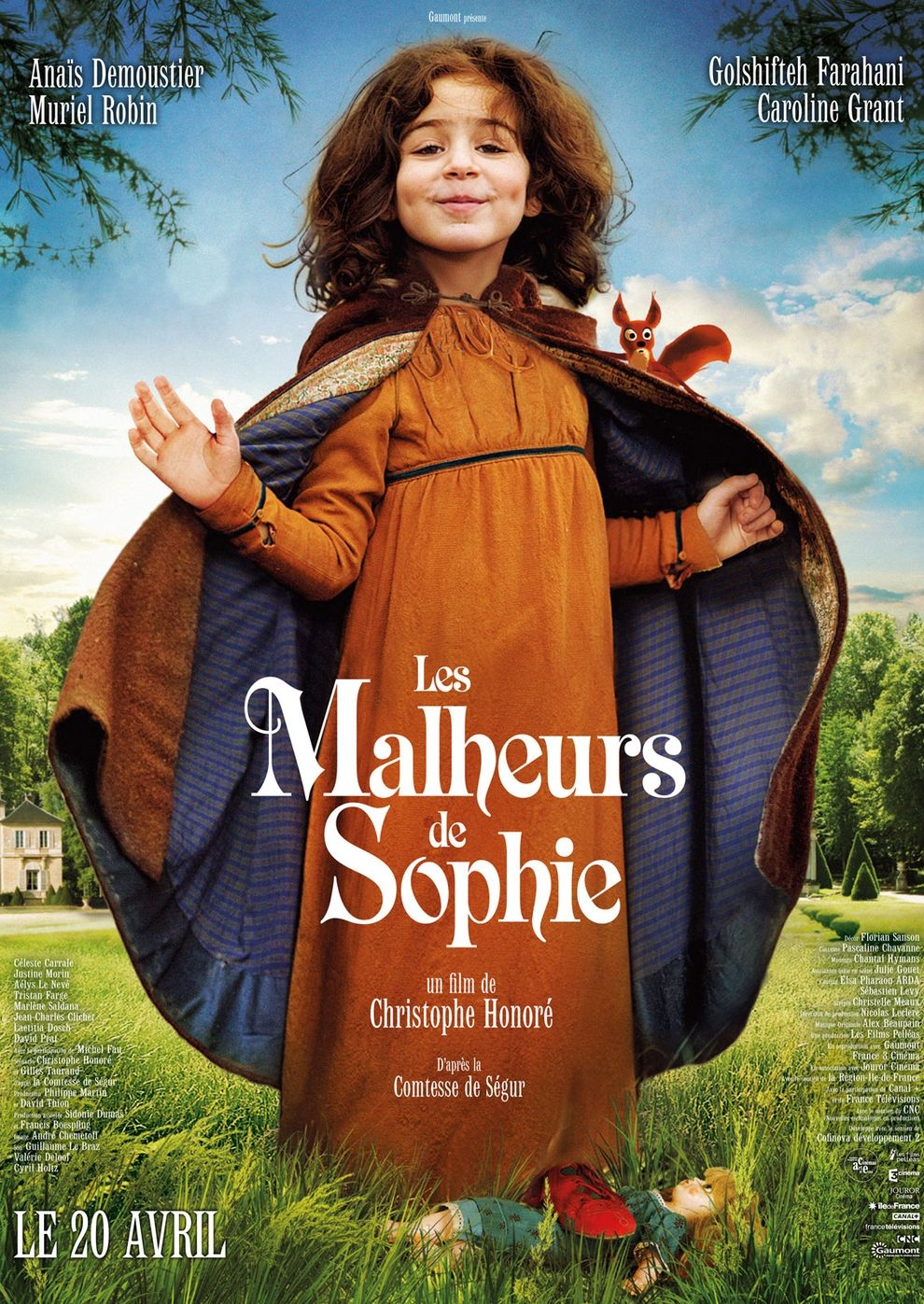 Les malheurs de Sophie (Poster)