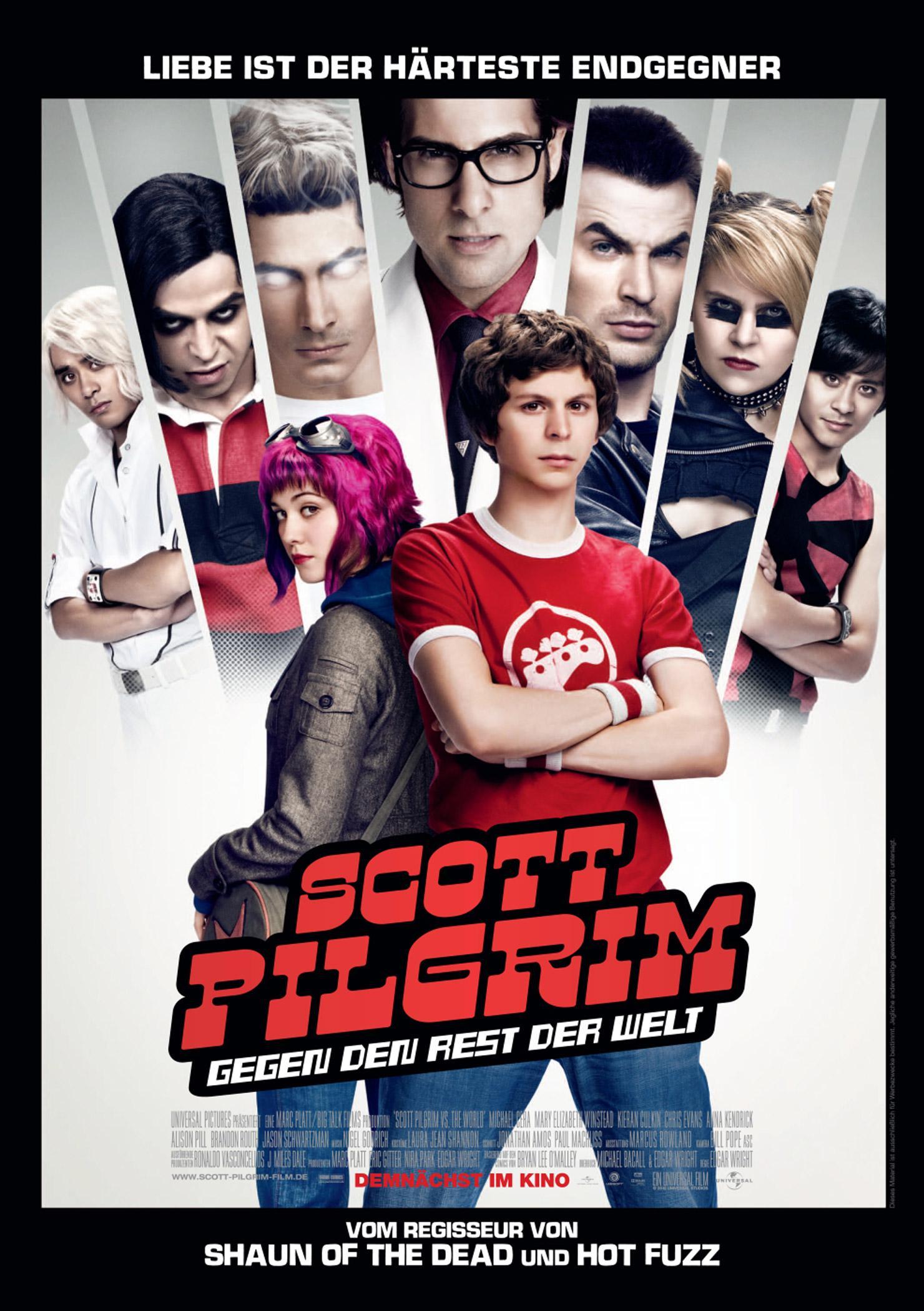 Scott Pilgrim gegen den Rest der Welt (Poster)
