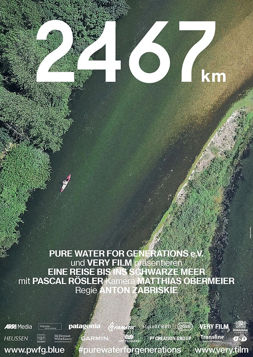 2467km - Eine Reise bis ins Schwarze Meer (Poster)