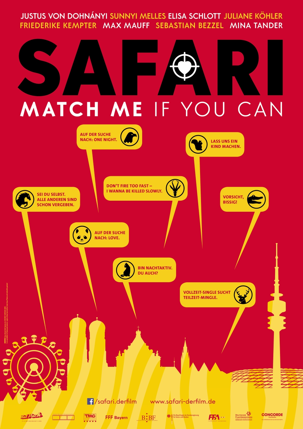 Safari - Match Me If You Can (Poster)