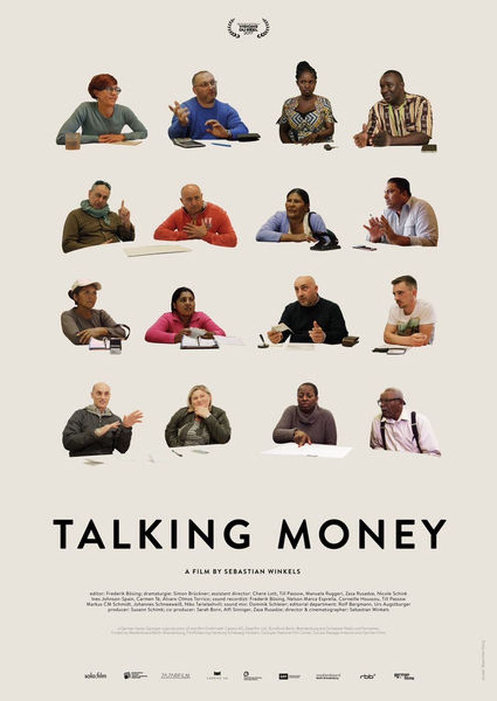 Talking Money (Poster)