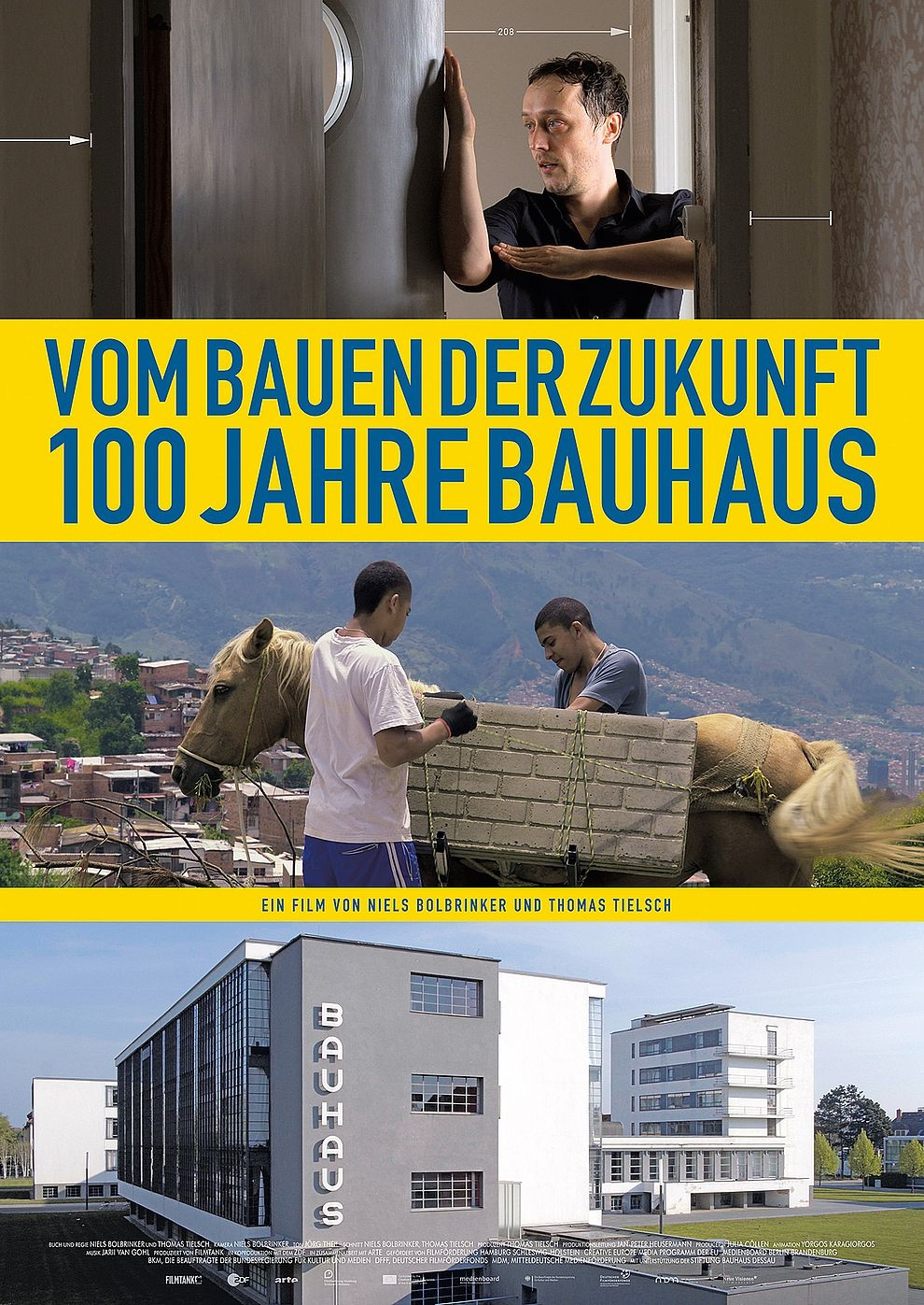 Vom Bauen der Zukunft - 100 Jahre Bauhaus (Poster)