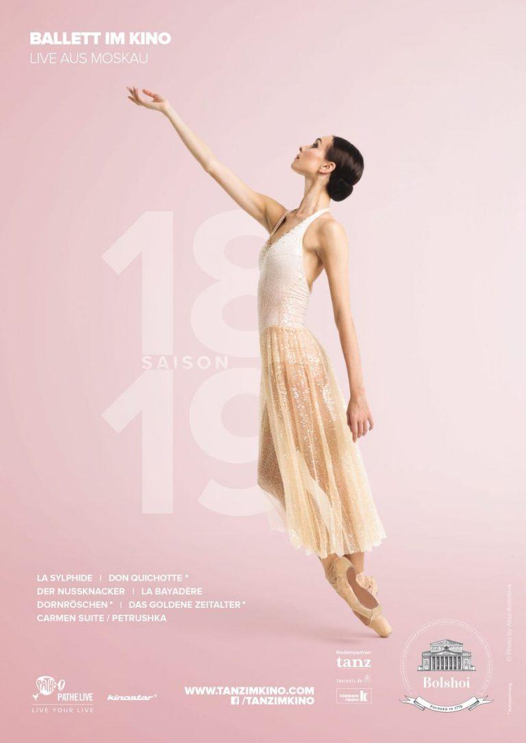 Bolshoi Ballett 2018/19: La Bayadère (Poster)
