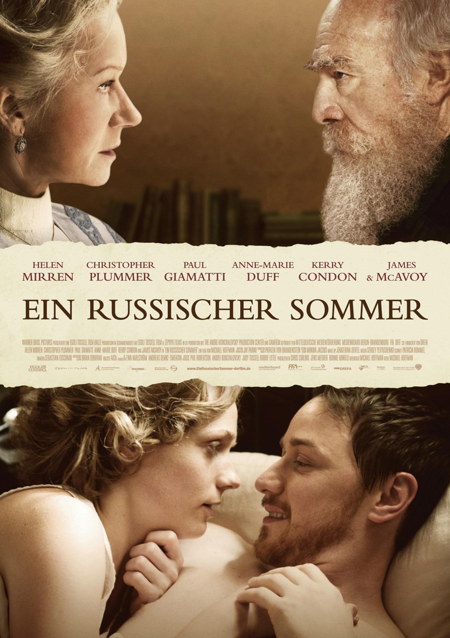 Ein russischer Sommer (Poster)