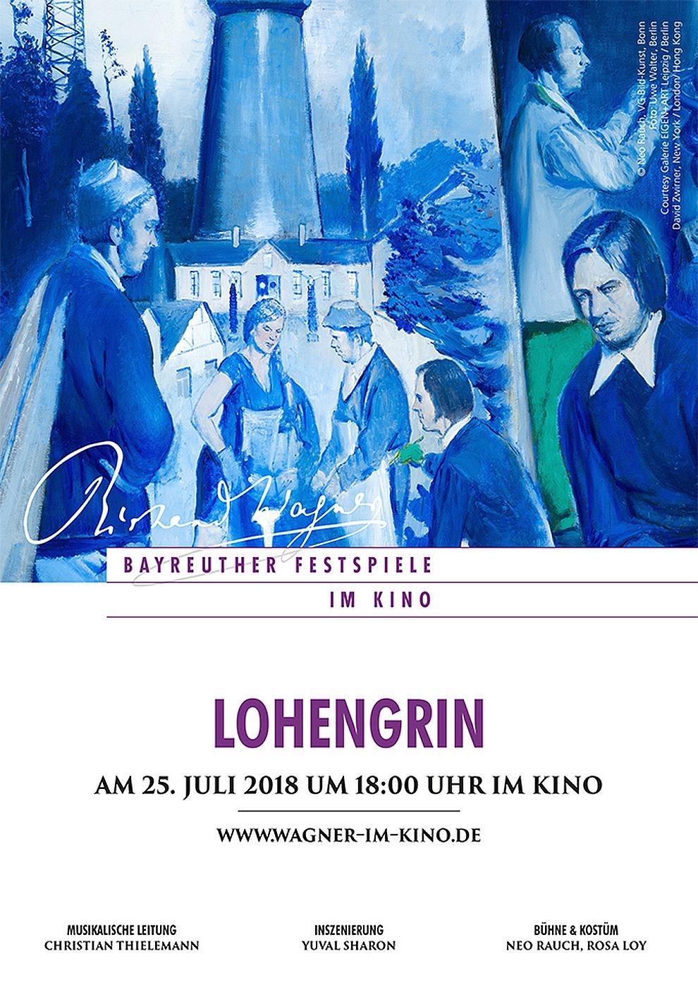 Bayreuther Festspiele 2018: Lohengrin (Poster)