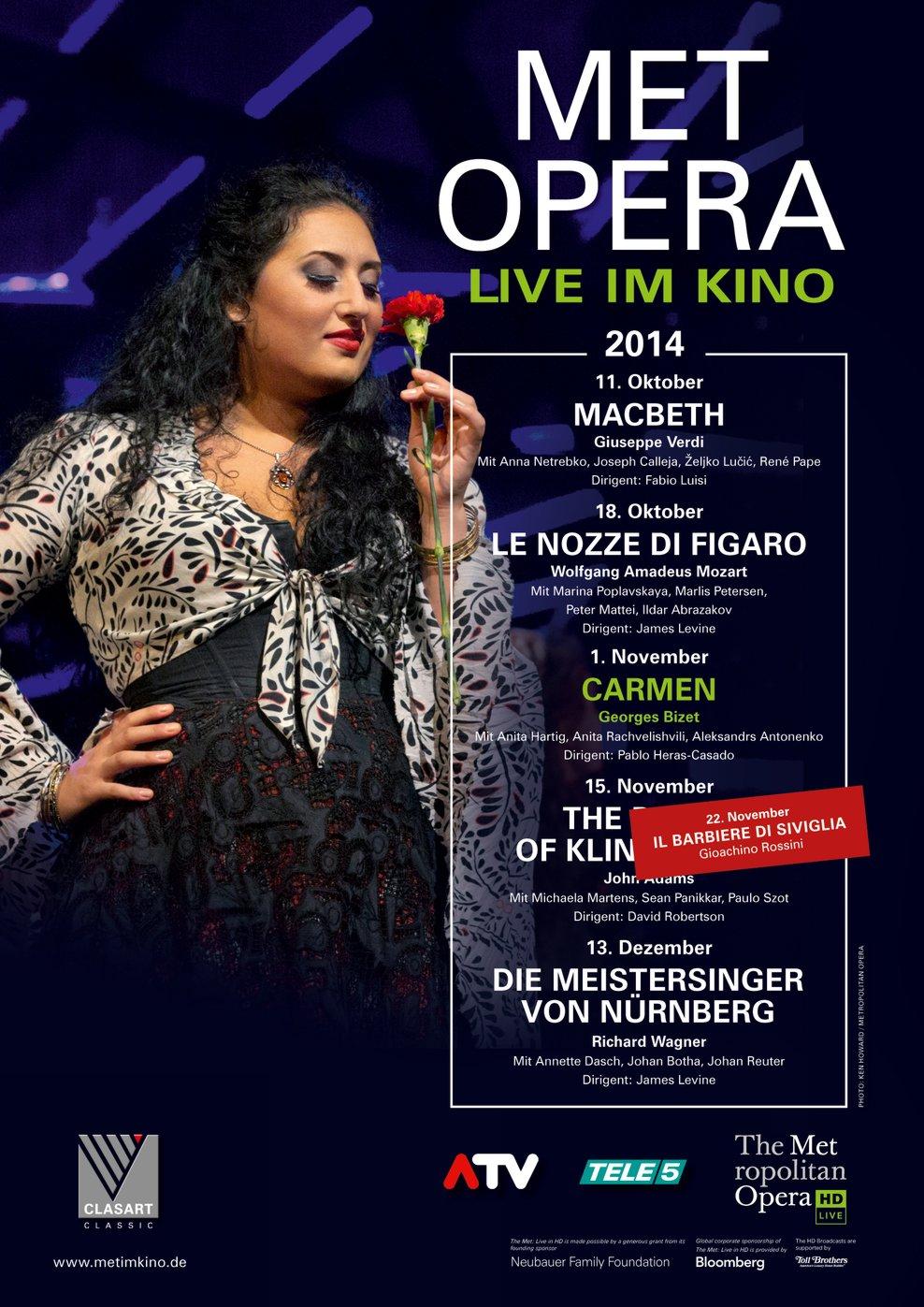 MET Opera: Carmen (Poster)