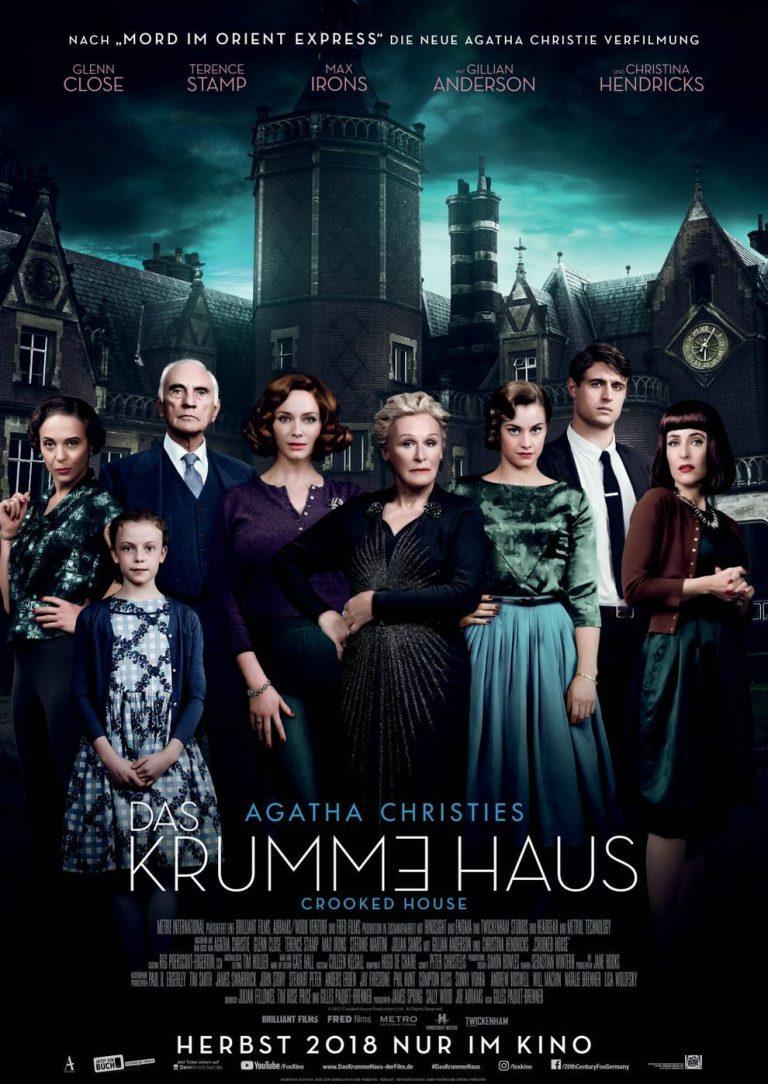 Das krumme Haus (Poster)