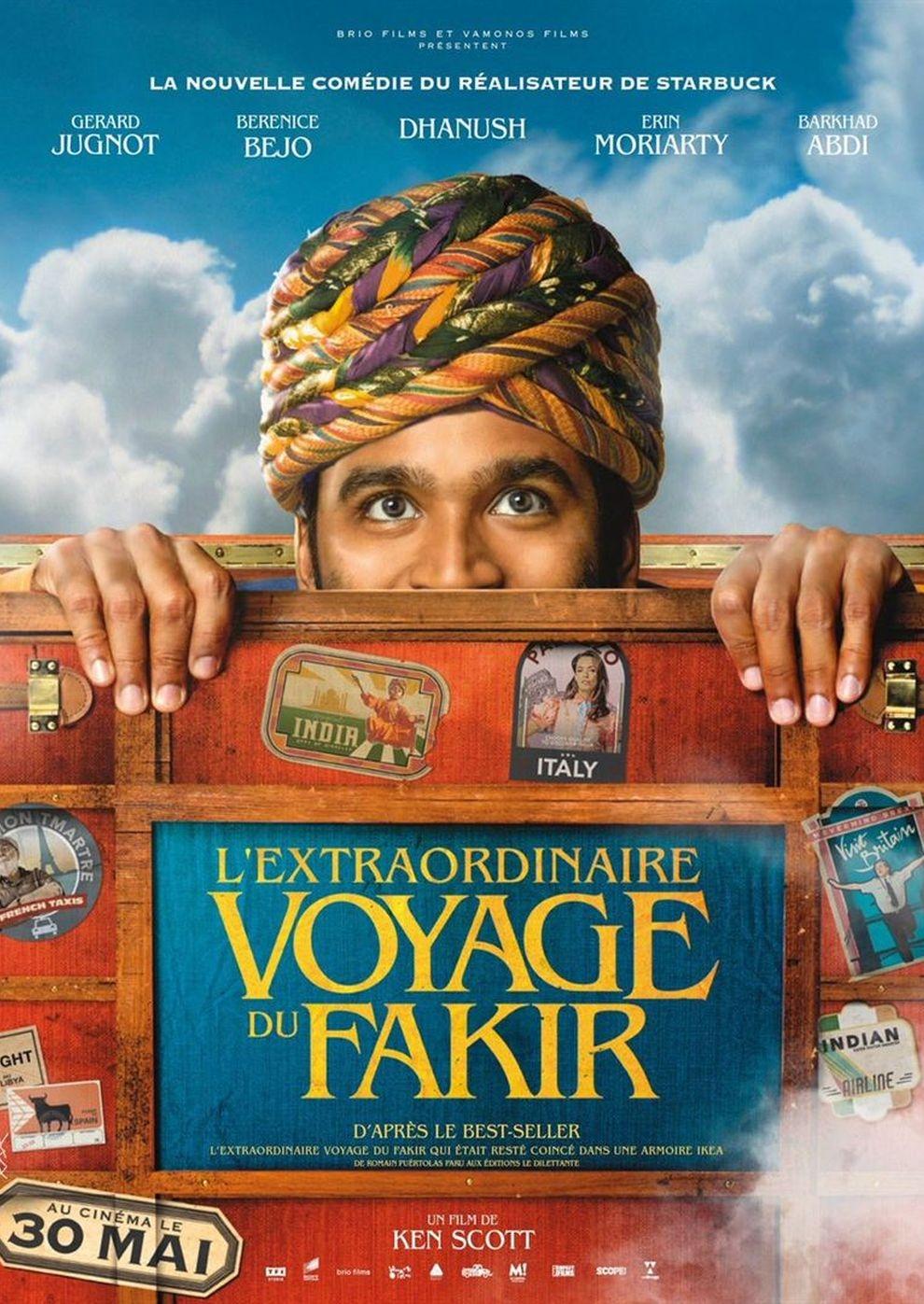 Die unglaubliche Reise des Fakirs (Poster)