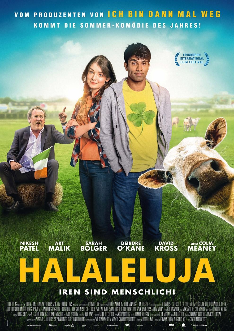 Halaleluja - Iren sind menschlich! (Poster)