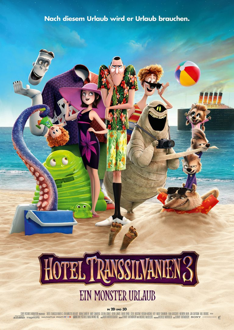 Hotel Transsilvanien 3 - Ein Monster Urlaub (Poster)
